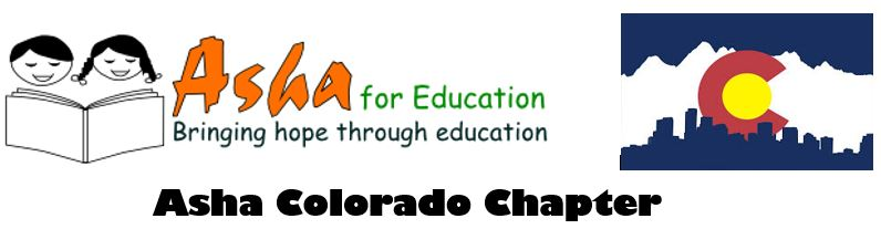 The Colorado chapter of Asha for Education